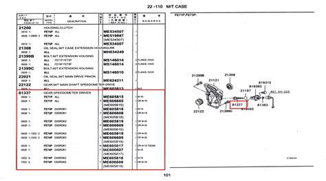 14 Suku Cadang Sparepart Mobil Hino Part me605817 gear speedometer driven spare part truck