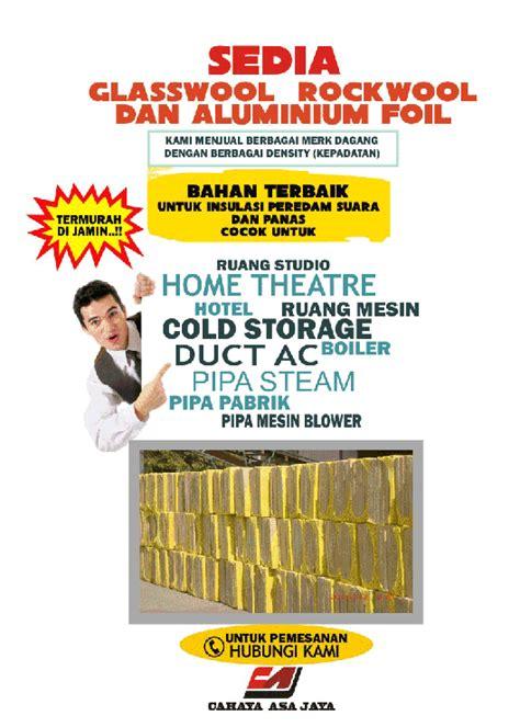 Jual Rockwool Pekanbaru harga rockwool glasswool perrybrills5