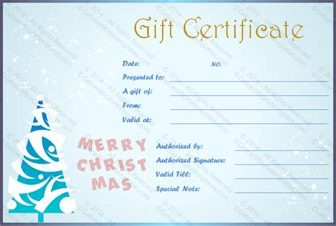 Show Certificate Template by Show Fall Gift Certificate Template