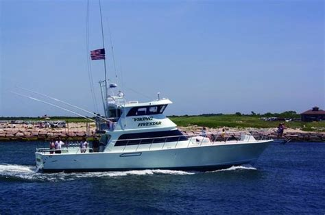 party boat fishing charters in ct montauk luxury charter boat viking fivestar picture of