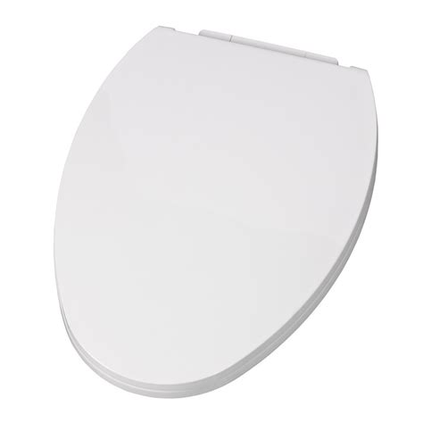 american standard toilet seats shop american standard everclean white plastic elongated toilet seat at lowes