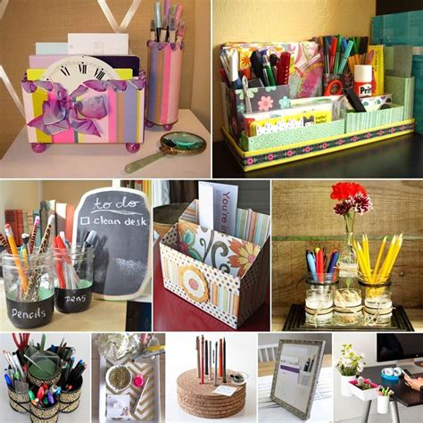10 awesome diy desk organizers for your home