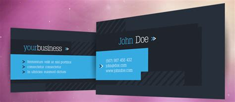 free stock business card templates for photoshop 50 free photoshop business card templates