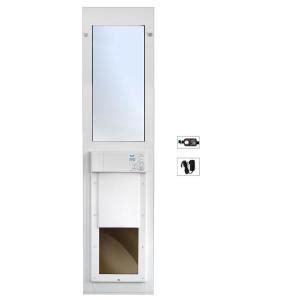 Home Depot Sliding Glass Patio Doors High Tech Pet 12 In X 16 In Electronic Pet Patio Door For Sliding Glass Doors Px2 Sgt The