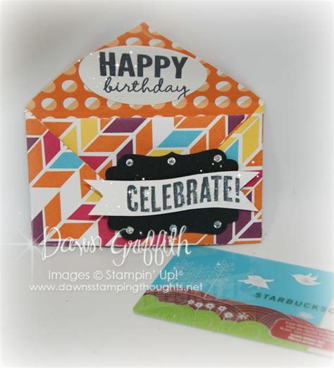 Celebrate Gift Card - celebrate gift card holder dawn s sting thoughts