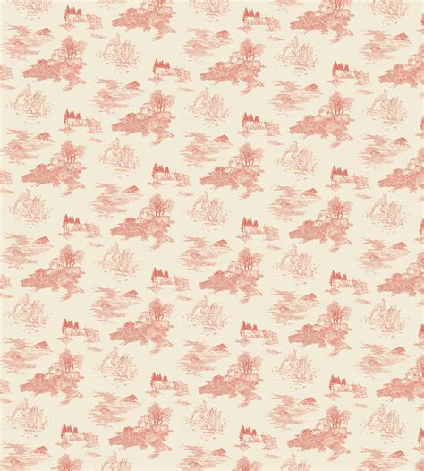 French Country Toile - my toile wallpaper yoonmi nam