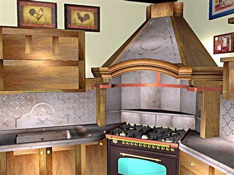 cappe per cucine rustiche cappe in muratura componenti cucina