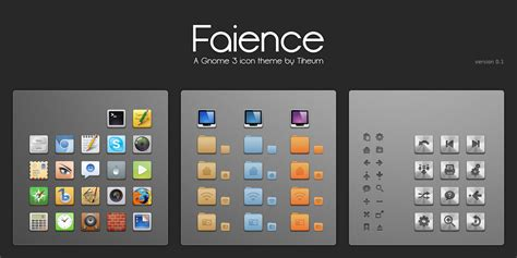 gnome icon themes deviantart le th 232 me gnome shell faience tux planet