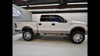 2006 Ford F150 Lariat For Sale 2006 Ford F150 Crew Lariat 4wd Lifted Truck For Sale