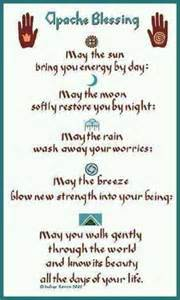 Indian Wedding Prayer Apache Blessing Native American Indian Affirmations Pinterest