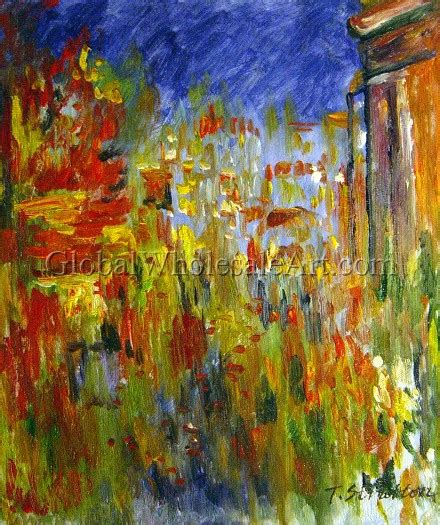 oil paintings global wholesale art claude monet leicester square at night oil paintings