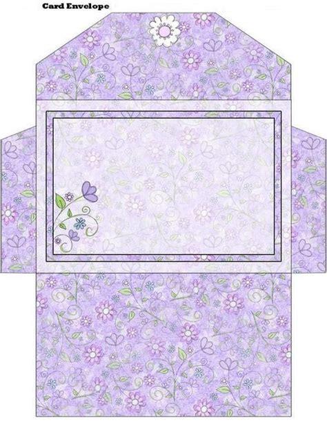 envelope box template gift boxes card envelops katilbalina decoupage