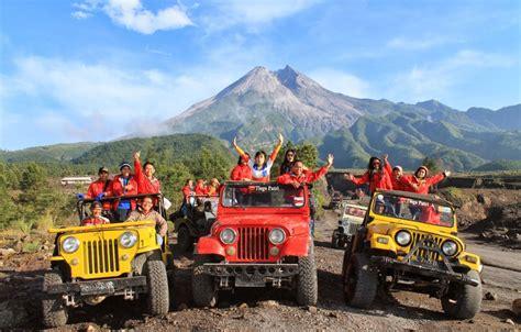 Paket Tour Lava Tour Merapi Jogja Murah merapi lava tour paket wisata jogja