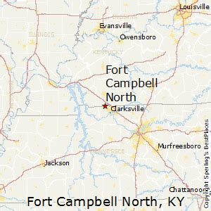 kentucky map fort best places to live in fort cbell kentucky