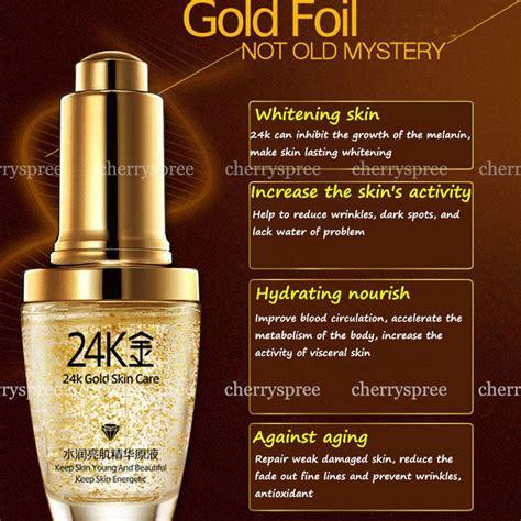 Tips Gugurkan Kandungan Pakai Air Ragi Bioaqua Serum Wajah 24k Gold Essence Kandungan Emas 24k