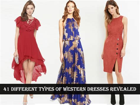 dress pattern types 41 different types of western dresses revealed looksgud in