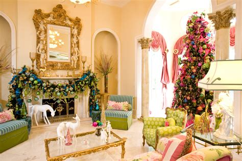 add zing with pink green and blue christmas d 233 cor