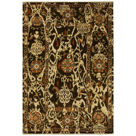 safavieh braided multi 8 ft x 8 ft safavieh braided brown multi 8 ft x 10 ft oval area rug brd313a 8ov the home depot