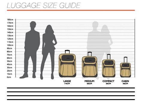 standard cabin bag size 53 size luggage showing the difference between a 19quot