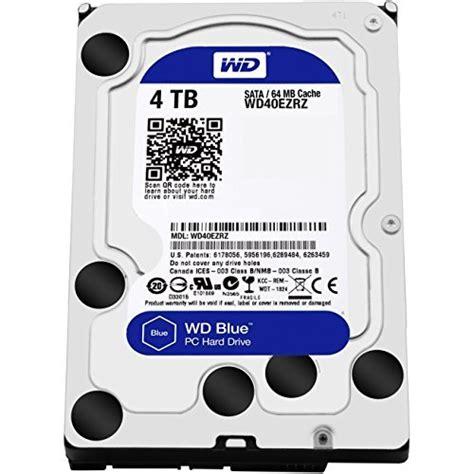 Wd Blue Desktop 3 5 Inch Drives 4tb 64mb Sata3 wd blue 4tb desktop disk drive 5400 rpm sata 6 gb s import it all