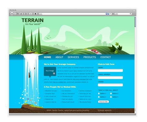 web design header background web design layout terrain header design pinterest