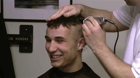 full head shaving video complete headshave hair thomas full length head shave video youtube