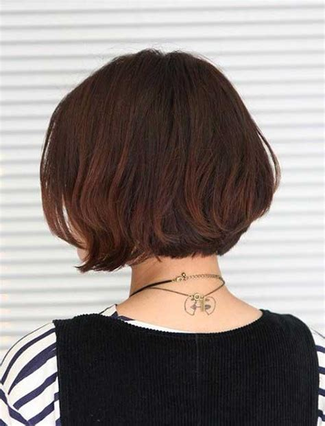 short hair cuts with dark brown color with carmel highlights 25 bob hair color ideas short hairstyles 2017 2018