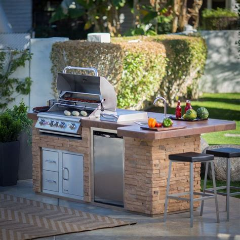 bull outdoor kitchen island outdoor kitchens at hayneedle this heavy duty galvanized steel framed grill island
