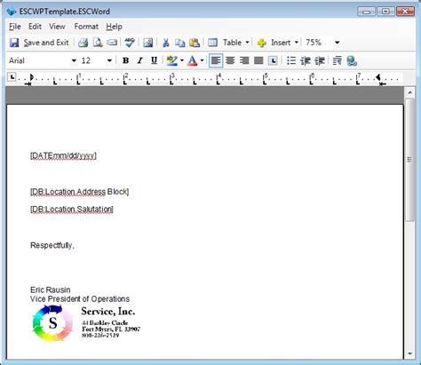 word processor templates manage word processor templates