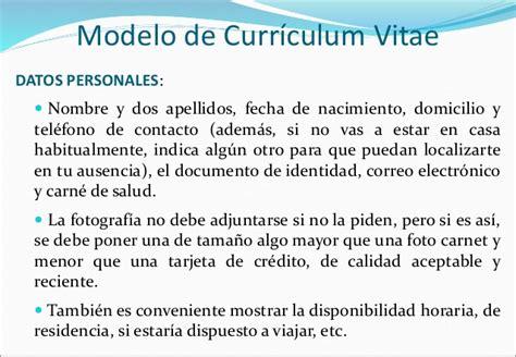 Modelo Curriculum Uruguay Clase 17 B 250 Squeda De Empleo Cv Mariana V Mselva