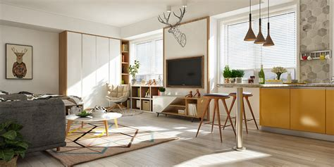Muji Interior Design by Applying A Scandinavian Home Interior Design With An