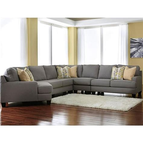 nebraska furniture mart sectional sofas chamberly 5 piece sectional with left arm facing cuddler