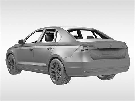 volkswagen bora 2016 volkswagen bora 2016 3d model max obj 3ds fbx c4d ma mb