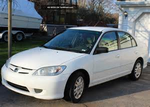 2005 Honda Civic 4 Door 2005 Honda Civic Lx Sedan 4 Door 1 7l
