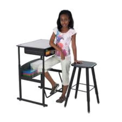 standing desk with foot swing alphabetter stand up desk a must have for those who want