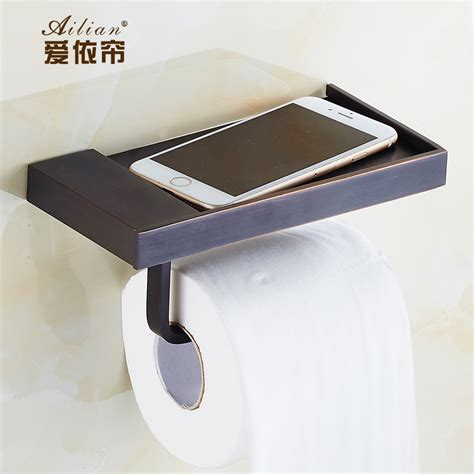 bathroom towel and toilet paper holders aliexpress com buy european 100 copper antique black