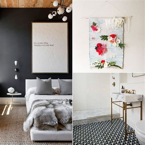 pinterest predicts  top home trends   popsugar