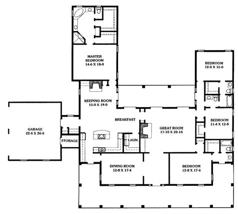 Southern Home Floor Plans by Southern Style Plantation Home Home Floor