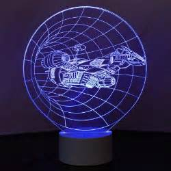 Lights Out Fx Optical Illusion 3d Spaceship Mood Lamp