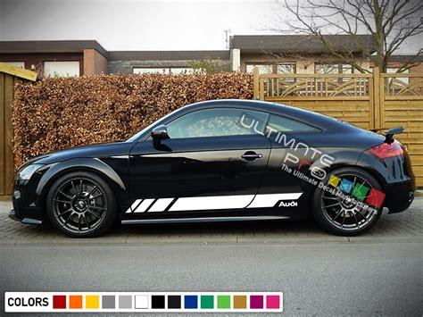 Audi Tt Rs Aufkleber by Sport Decal Sticker Vinyl Side Racing Stripes Compatible