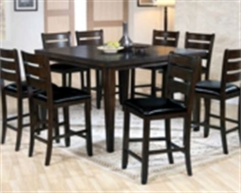 counter height bench urbana espresso counter height dining sets pub tables and sets