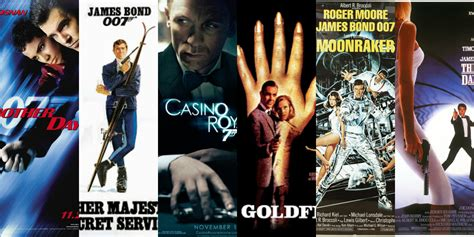 james bond film at cinema every james bond movie listed and ranked supposedly fun