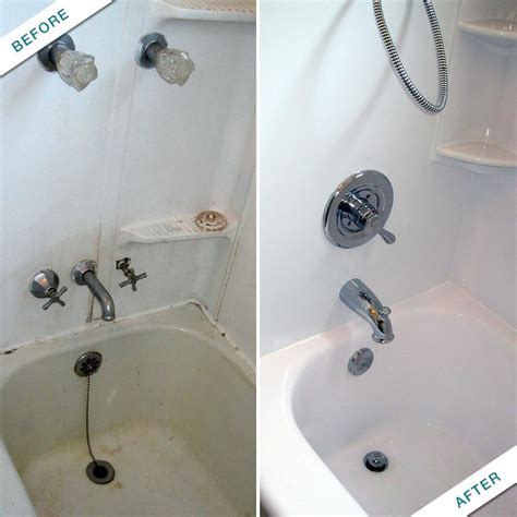 bath fitter before and after bath fitter can help bring your bathtub into the modern