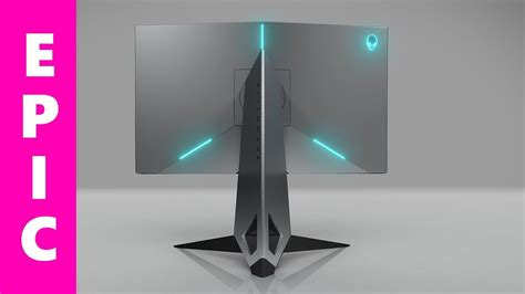 alienware 25 gaming monitor review 240hz freesync gsync best gaming monitor 2018 aw2518h