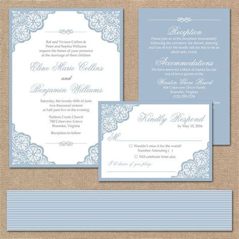 elegant wedding invitation printable elegant lace wedding invitation suite square invitation