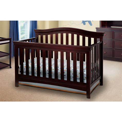 Babies R Us Delta Crib Featuring Sturdy Wood Construction The Delta Bennington Curved 4 In 1 Crib In The