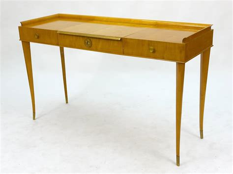 Console Table Vanity by Italian Attr Gio Ponti Dressing Table Vanity Console
