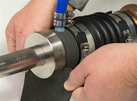 shaft seal maintenance step  power motoryacht
