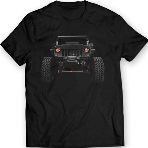 Jeep Wrangler Clothing American Jeep Wrangler T Shirts 2014 Mens Tees By