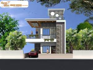 Home Design Plans India Free Duplex by Modern Duplex House Design In 126m2 9m X 14m Like Share